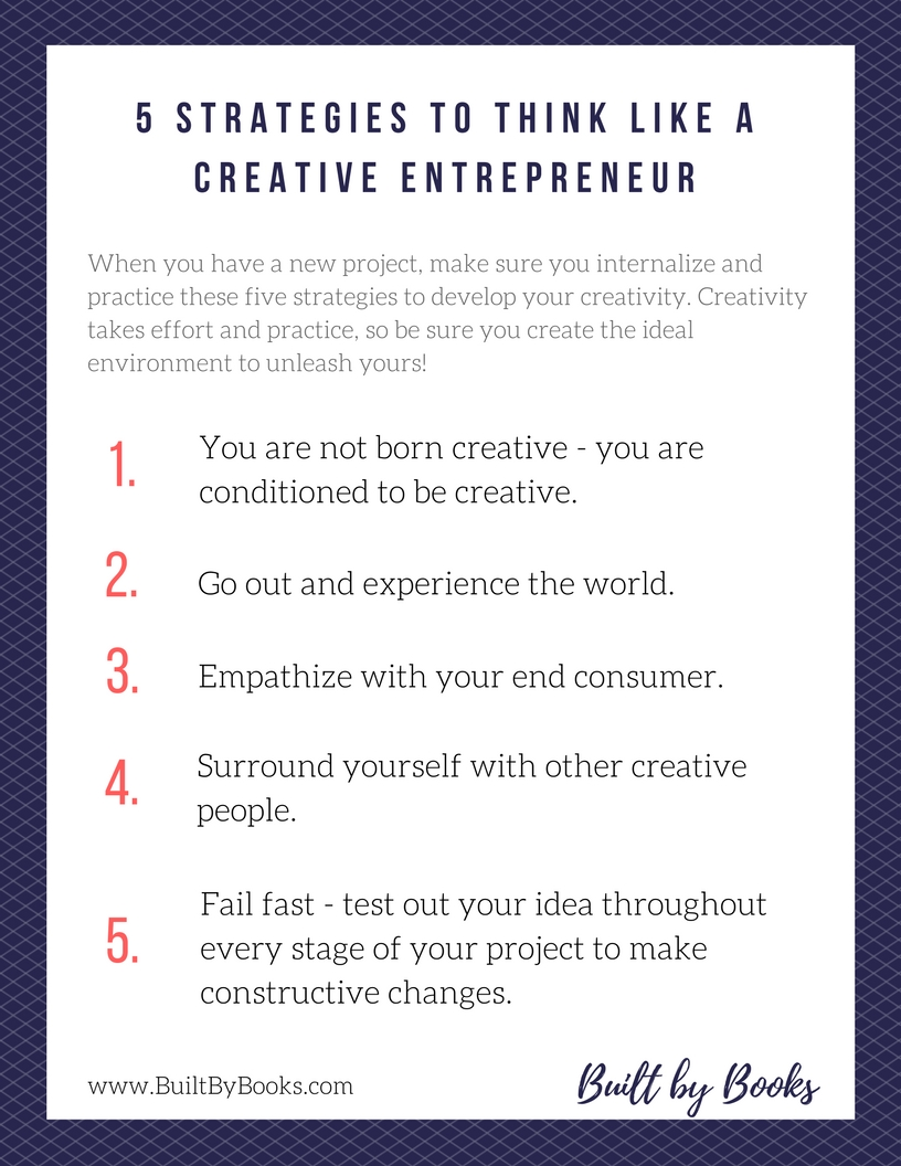 5 Strategies to Think Like a Creative Entrepreneur