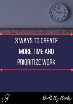 Create more time in your week and spend it on what really matters to advance your career!