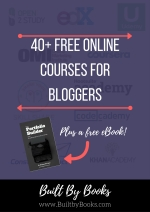 Are you a DIY learner who has started a blog? Check out these free online courses to help you along the way!