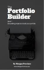 Sign up for the free Portfolio Builder eBook! Start showing your audience why they need your help.