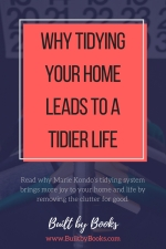 Marie Kondo's life-changing method of tidying gives you a cleaner house and a tidier life.