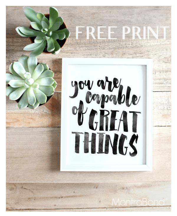 11 Beautiful Printables For Your Office Space